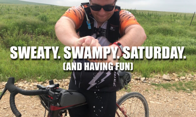 Sweaty. Swampy. Saturday.