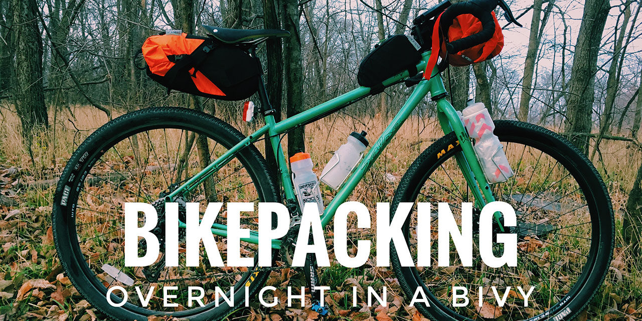 Bikepacking in December & trying out a Bivy – VLOG